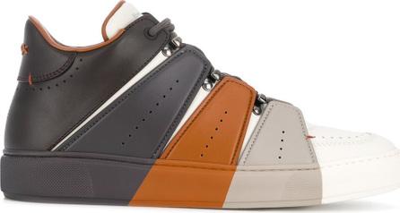 Ermenegildo Zegna Couture Tommaso colour block sneakers