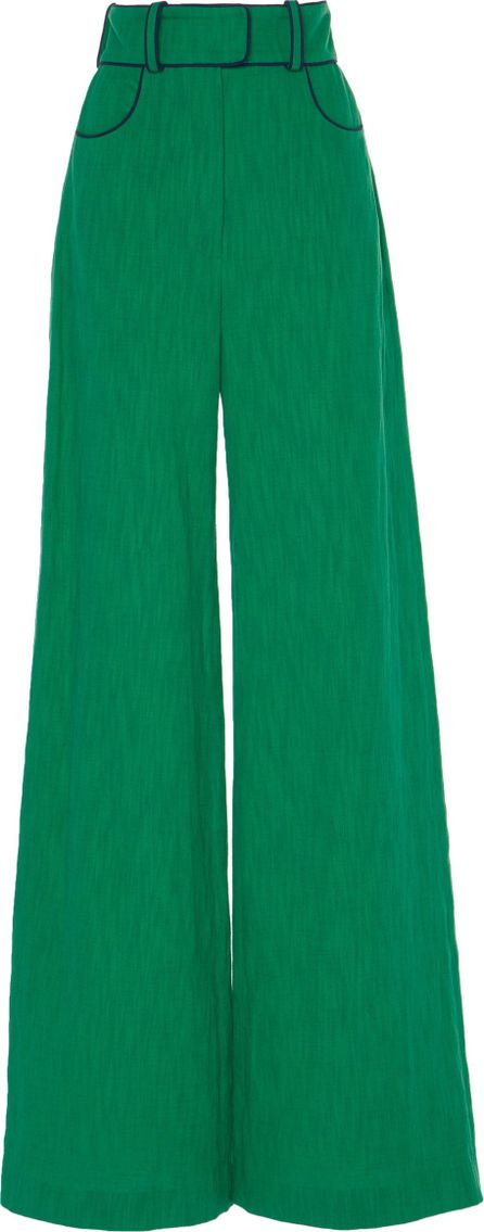 Martin Grant Belted Wide Leg Pant
