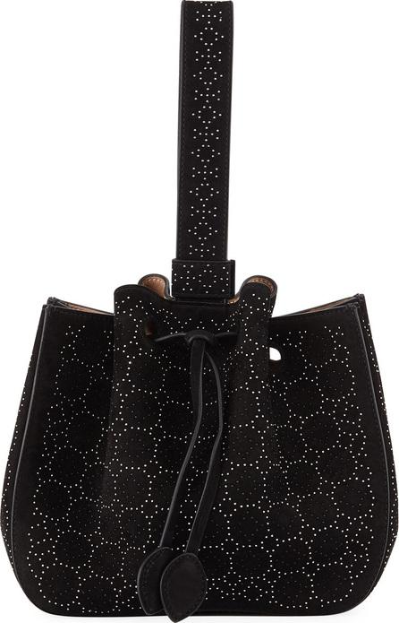 Alaïa Rose-Marie Studded Small Bucket Bag