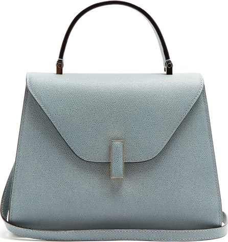 Valextra Iside medium grained-leather bag