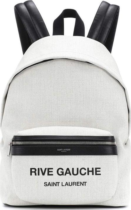 Saint Laurent Rive Gauche canvas backpack