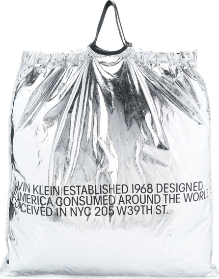 Calvin Klein 205W39NYC Wide square tote bag