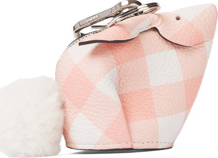 LOEWE Bunny Gingham Charm for Handbag