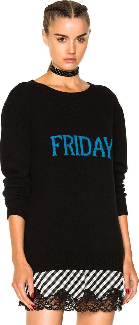 Alberta Ferretti Friday Crewneck Sweater