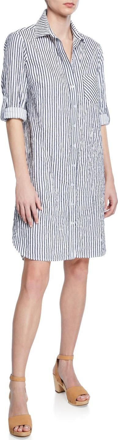 Finley Alex Spectator Striped Shirtdress