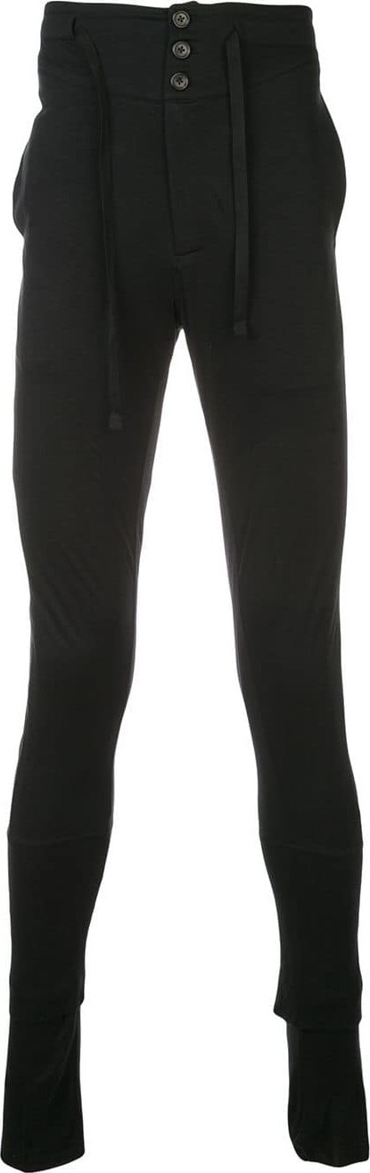 Ann Demeulemeester Skinny fit track trousers