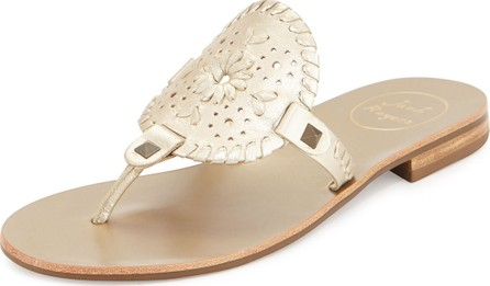 Jack Rogers Georgica Whipstitched Thong Sandals