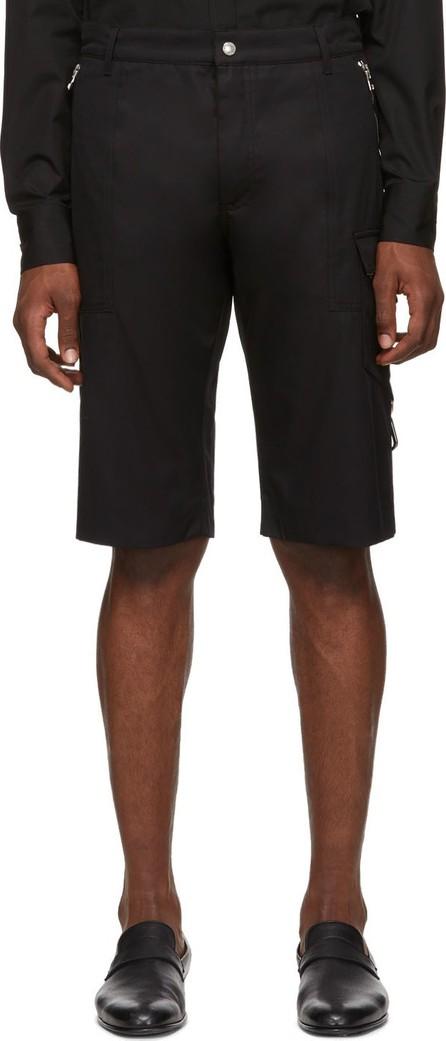 Alexander McQueen Black Pocket Detail Shorts