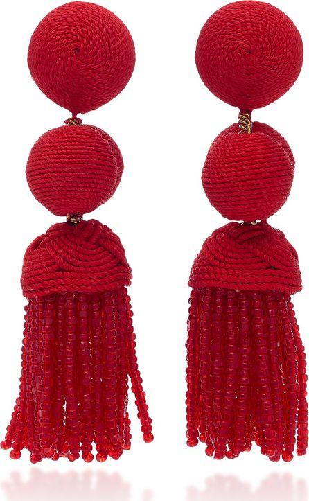 Rebecca de Ravenel Cha Cha Tassel Short Earrings