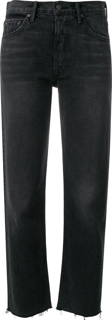 Grlfrnd high-rise cropped jeans