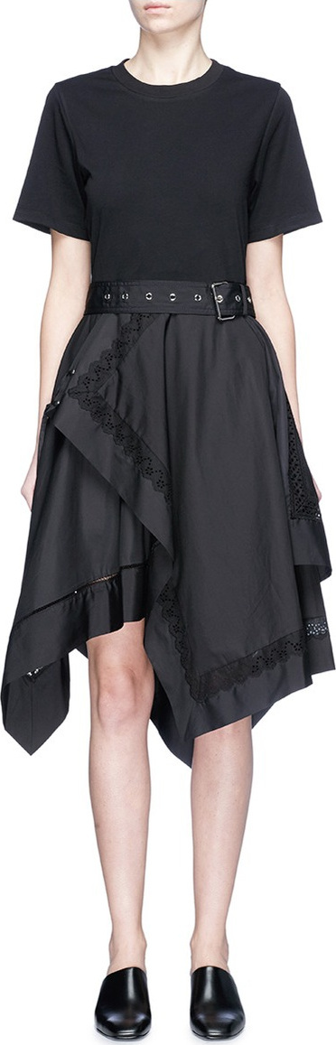 3.1 Phillip Lim Handkerchief skirt T-shirt dress