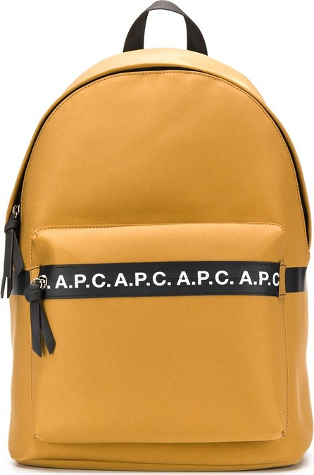 A.P.C. Logo woven backpack