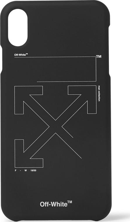 Off White Logo-Print iPhone XS Max Case