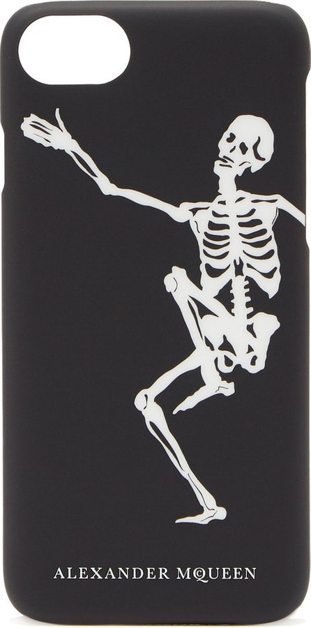 Alexander McQueen Dancing skeleton phone case