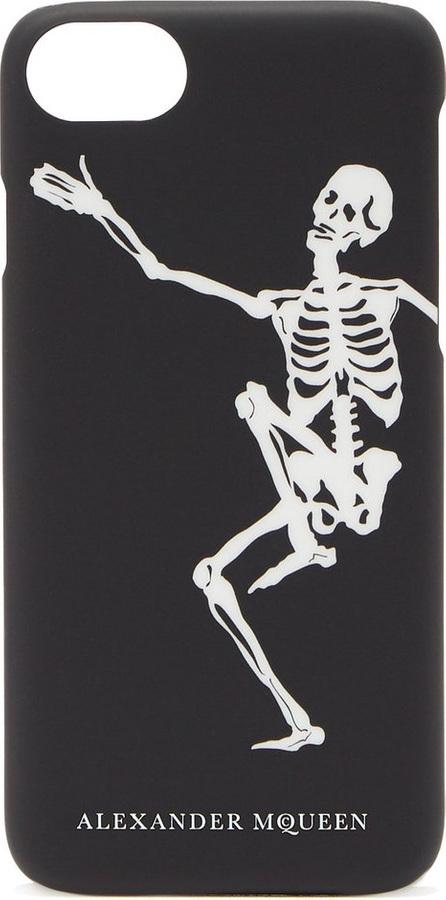 Alexander McQueen Dancing skeleton phone case