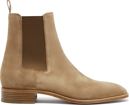 Christian Louboutin Samson suede chelsea boots