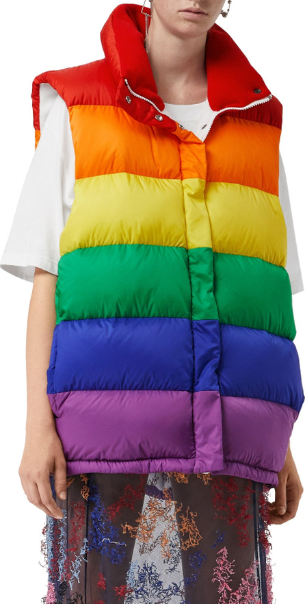 Burberry London England Rainbow Down Puffer Vest