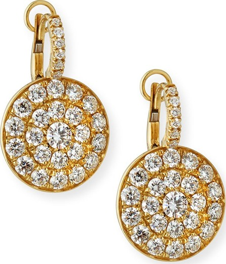 Crivelli 18K Yellow Gold & Diamond Disc Drop Earrings