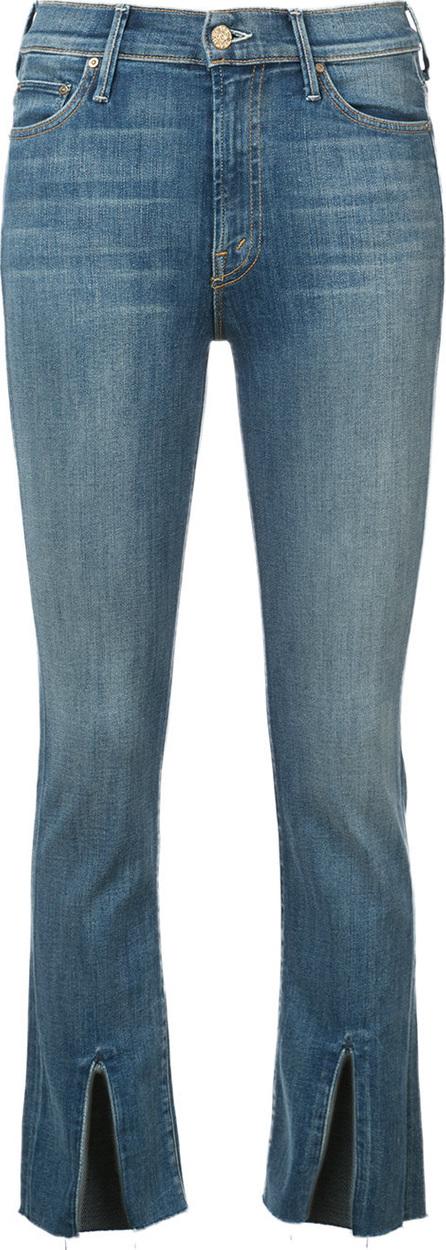 MOTHER Front slit jeans
