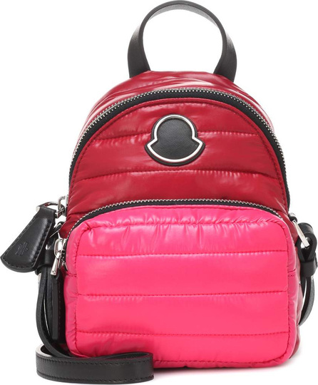 Moncler Leather-trimmed shoulder bag