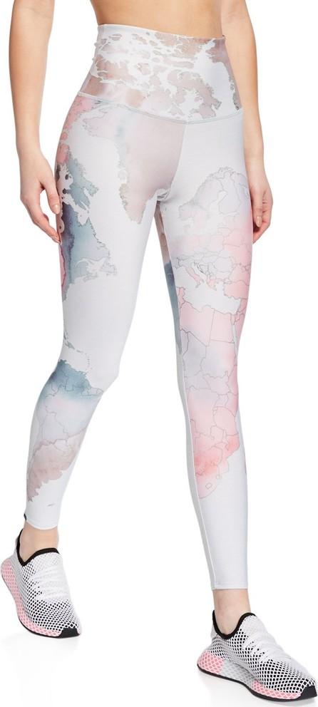 ONZIE High-Rise Graphic Midi Yoga Leggings