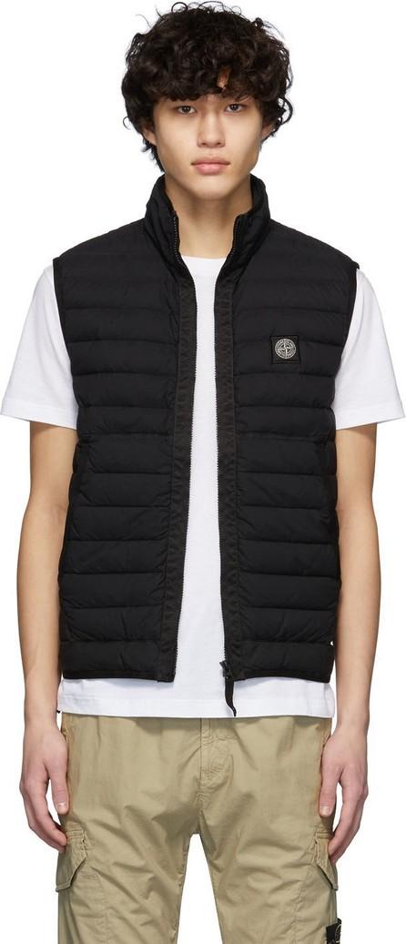 Stone Island Black Down Waistcoat Jacket