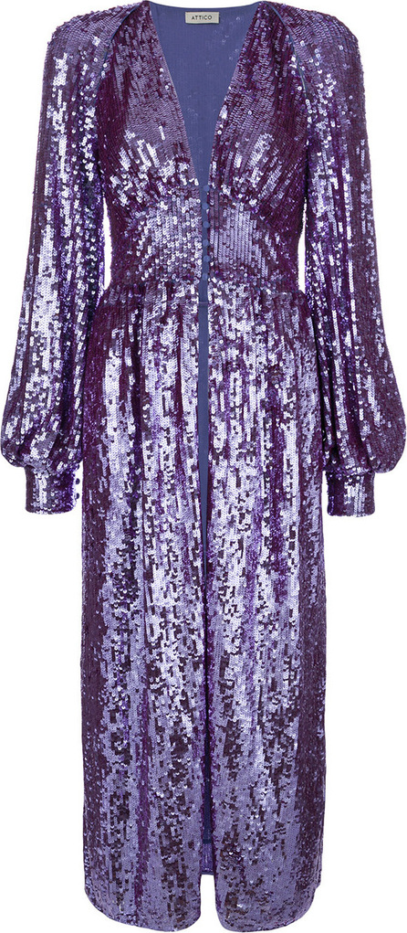 Attico Sequin tunic coat