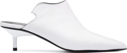 Marques'Almeida White 40 leather mules