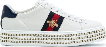 Gucci Ace crystal embellished sneakers