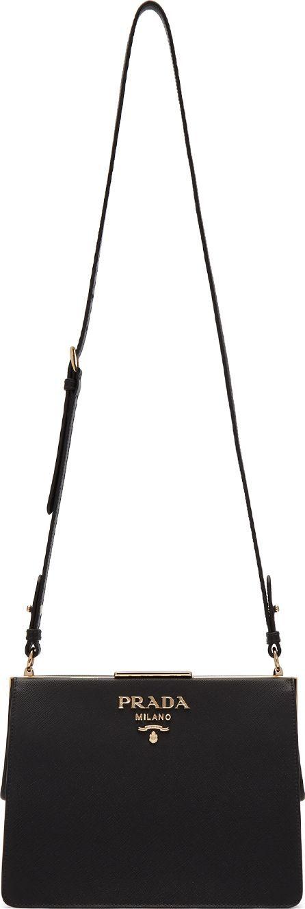 Prada Black Frame Bag
