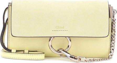 Chloe Faye Mini leather wallet bag