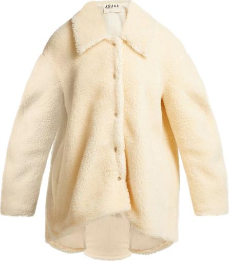 A.W.A.K.E Oversized faux-shearling jacket