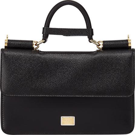 Dolce & Gabbana Micro Stamped Iguana Top-Handle Bag