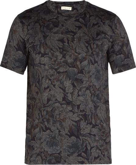 Etro Floral-print cotton-jersey T-shirt
