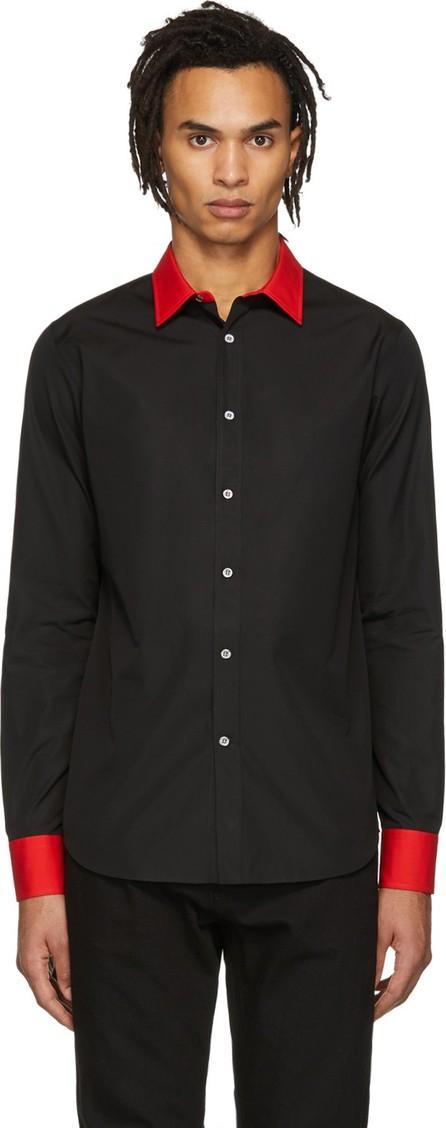 Alexander McQueen Black Cotton Shirt