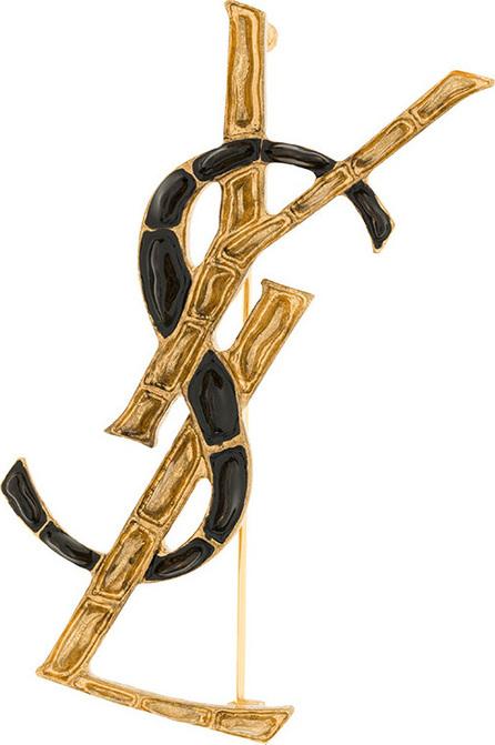 Saint Laurent Opyum YSL Crocodile brooch