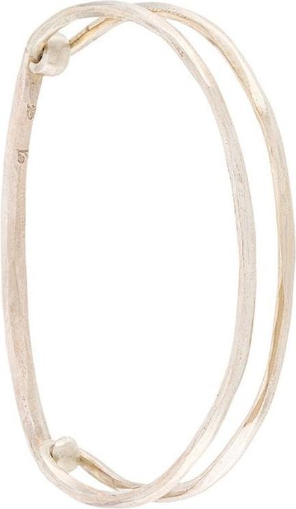 Werkstatt:München Hammered link bracelet