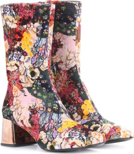Erdem Kaela velvet ankle boots