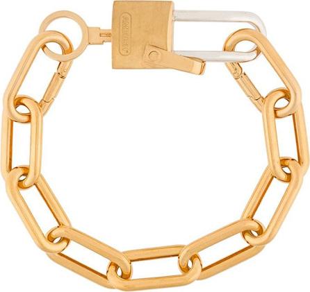 Ambush Stance padlock chain bracelet