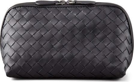 Bottega Veneta Woven Leather Medium Cosmetics Case