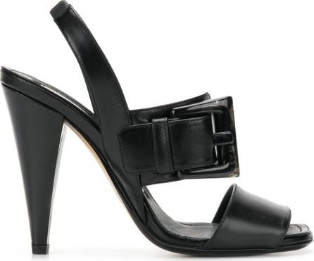 Nº21 Statement buckle high-heel sandals
