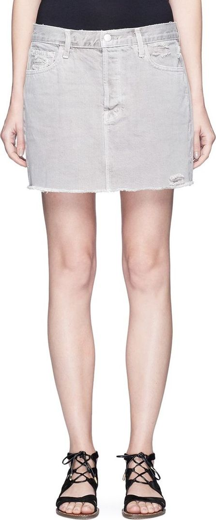 J BRAND 'Bonny' mid rise denim mini skirt