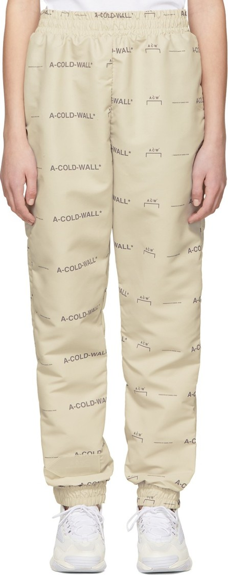 A-Cold-Wall* Beige Basic Logo Lounge Pants