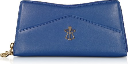 Lara Bellini Zip Around Leather Continental Lara Wallet