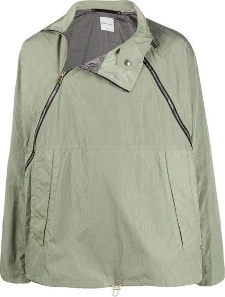 Paul Smith Off-center zip windbreaker