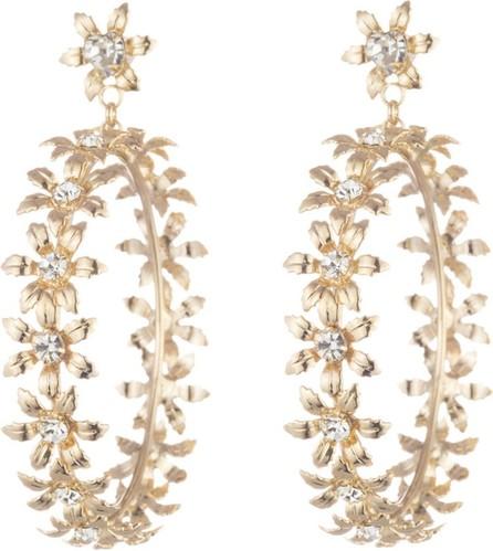 DANNIJO Amara Flower Hoop-Drop Earrings