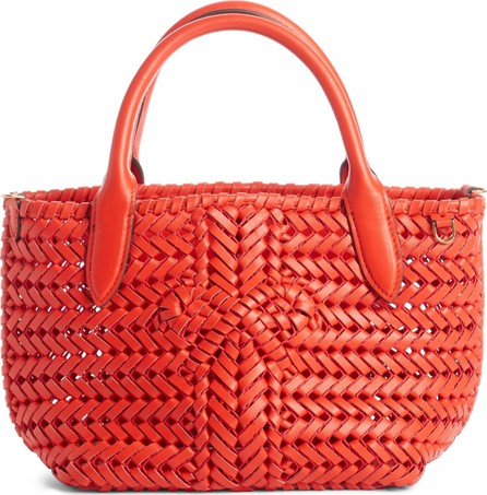 Anya Hindmarch Mini Neeson Woven Leather Tote