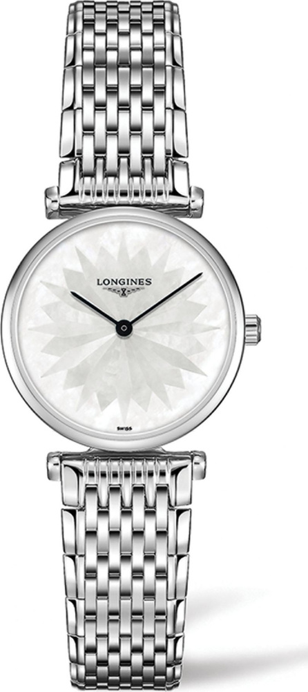 Longines La Grande Classique de Longines Mother-of-Pearl Dial Stainless Steel Bracelet Watch