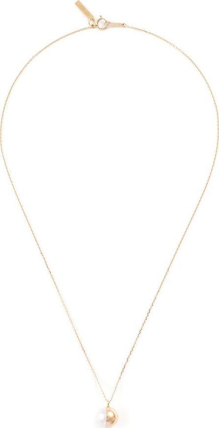 Tasaki 'Arlequin' freshwater pearl 18k yellow gold pendant necklace