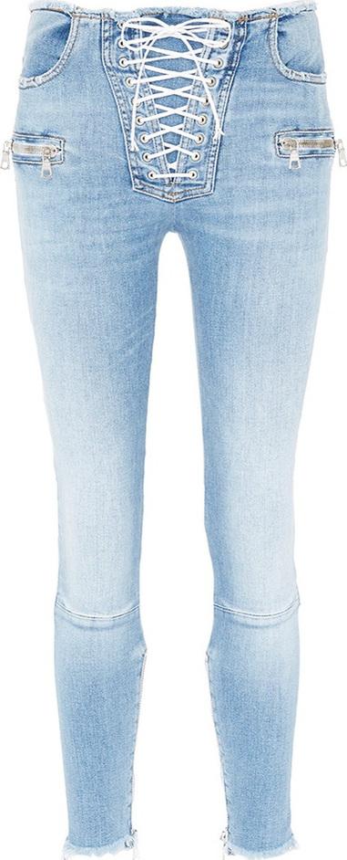 Ben Taverniti Unravel Project Lace-up front jeans